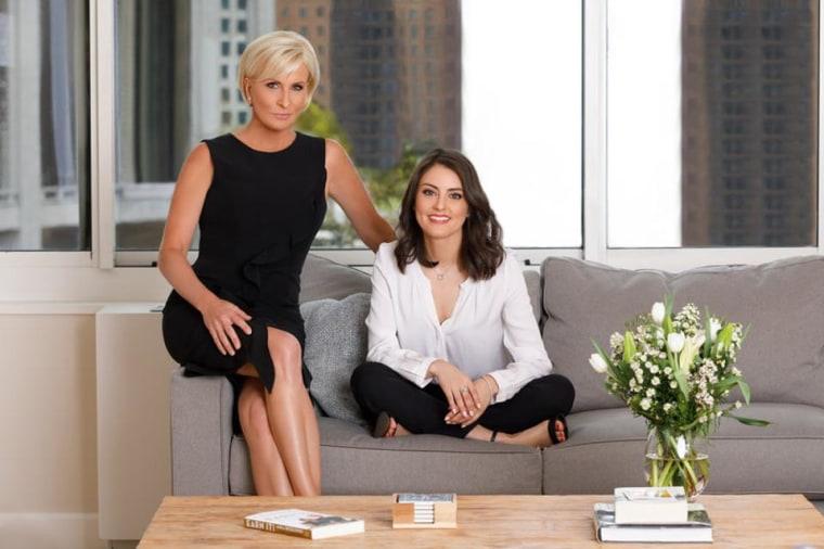 """Mika Brzezinski and Daniela Pierre-Bravo, co-authors of """"Earn It."""""""