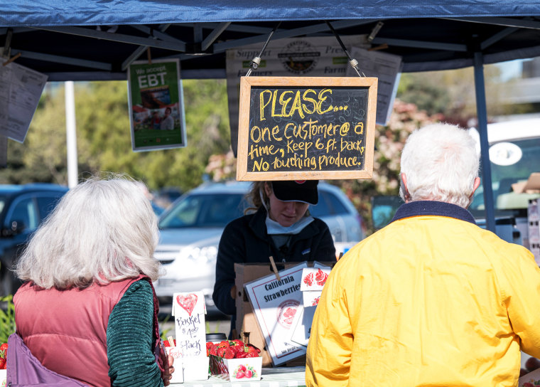 Farmers' Markets Provide Lifelines To Both Growers And Shoppers