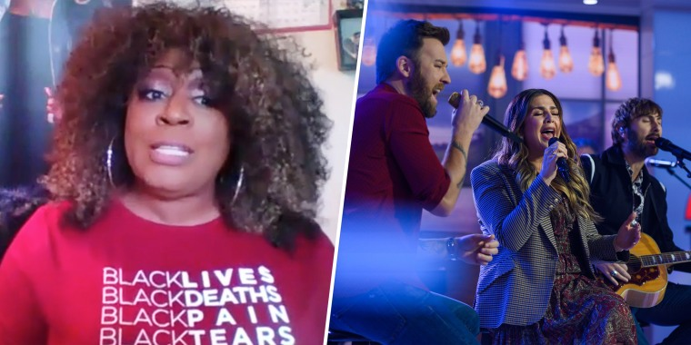 The blues singer Anita White, who performs under the stage name Lady A, is countersuing the country band formerly known as Lady Antebellum.