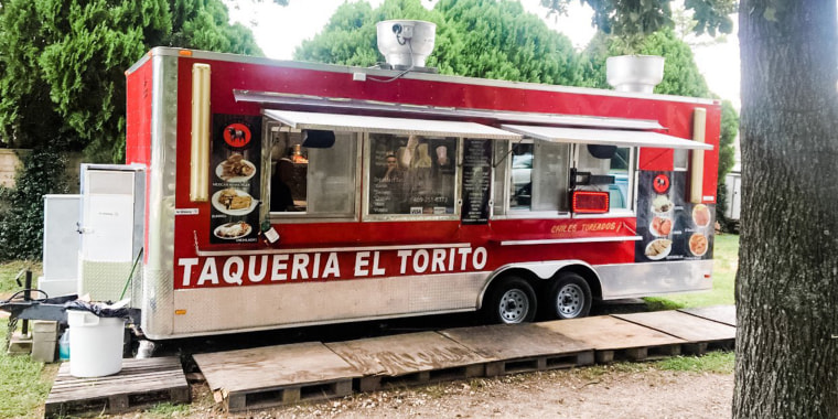 Giselle Aviles helped bring business to her father's taco truck, Taqueria El Torito.