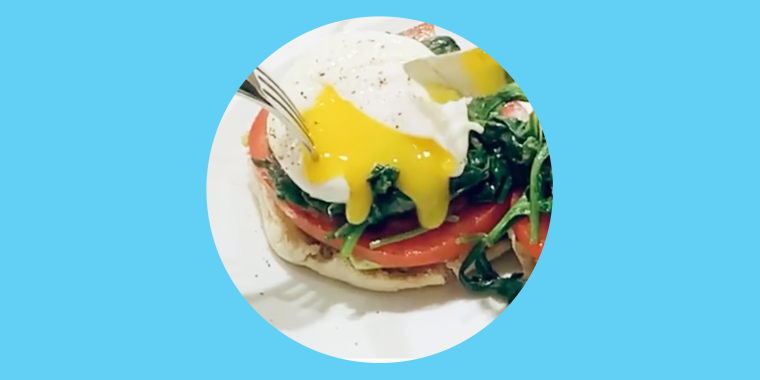 Dylan Dreyer Eggs Benedict