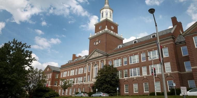 The University of Cincinnati campus.