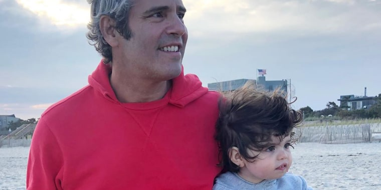 Andy Cohen and his son, Benjamin