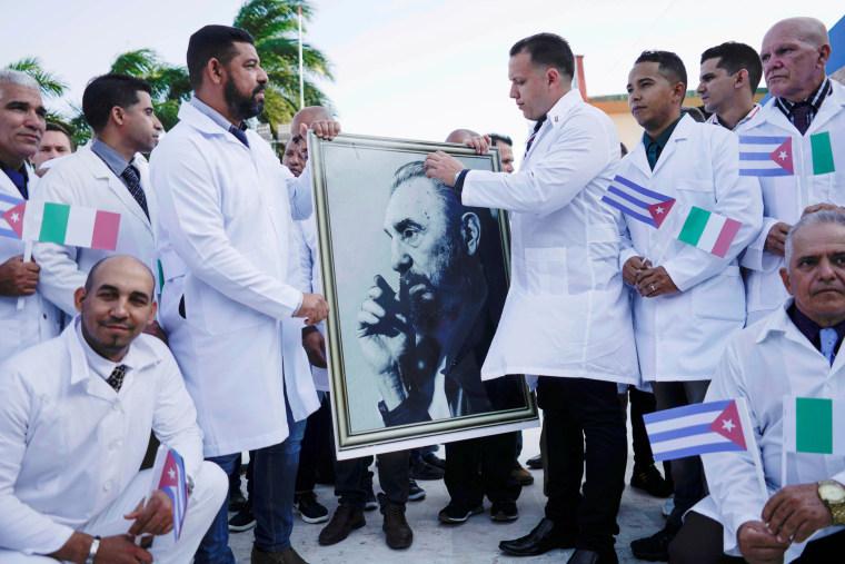 Image: Cuban doctors
