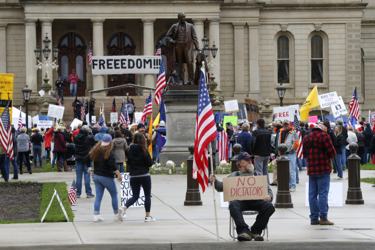 Image: Michigan Protests
