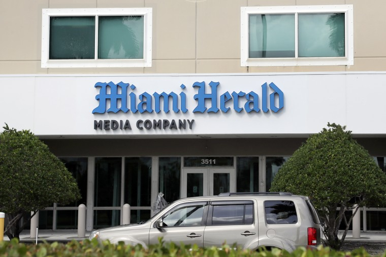 Image: Miami Herald office