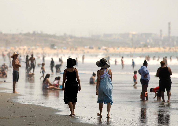 Hot weather coverage - during the Coronavirus pandemic