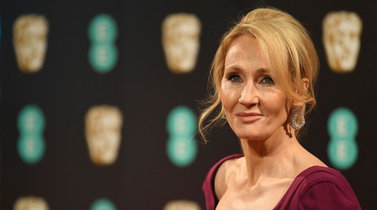 British author J. K. Rowling in 2017.