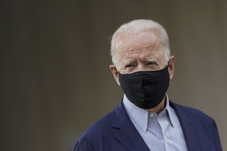 Image: Presidential Candidate Joe Biden Votes In Statewide Primary In Wilmington, Delaware