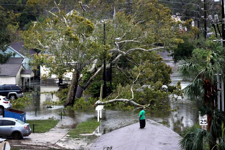 Image: Hurricane Sally Makes Landfall On Gulf Coast