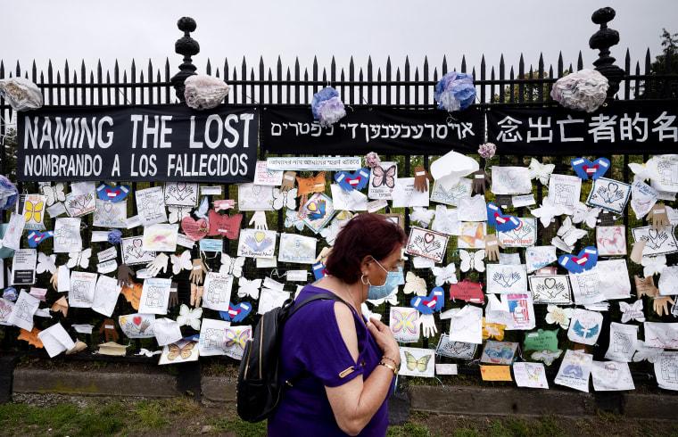 IMAGE: Memorial in New York