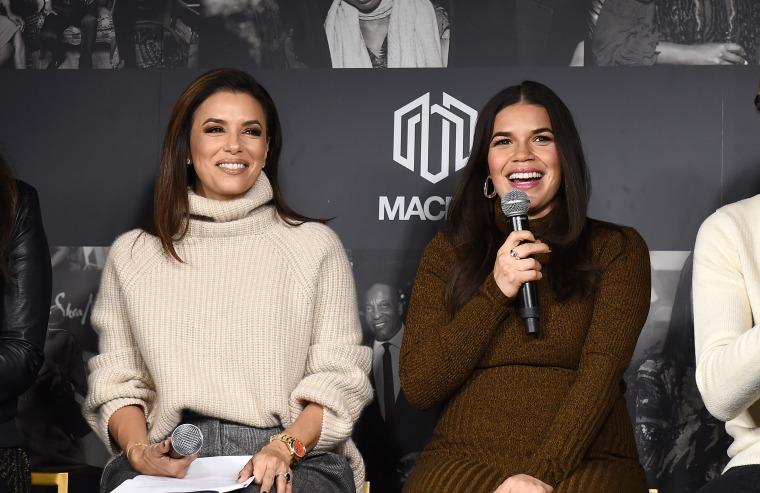 The MACRO Lodge Presents Netflix Gentefied Panel With Eva Longoria And America Ferrara