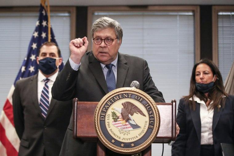 Image: US-POLITICS-JUSTICE-BARR