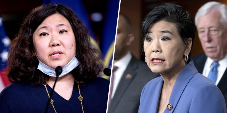 Rep. Grace Meng, D-N.Y., and Rep. Judy Chu, D-Calif.
