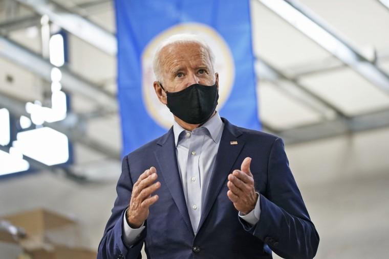 Image: Joe Biden Campaigns For President In Minnesota