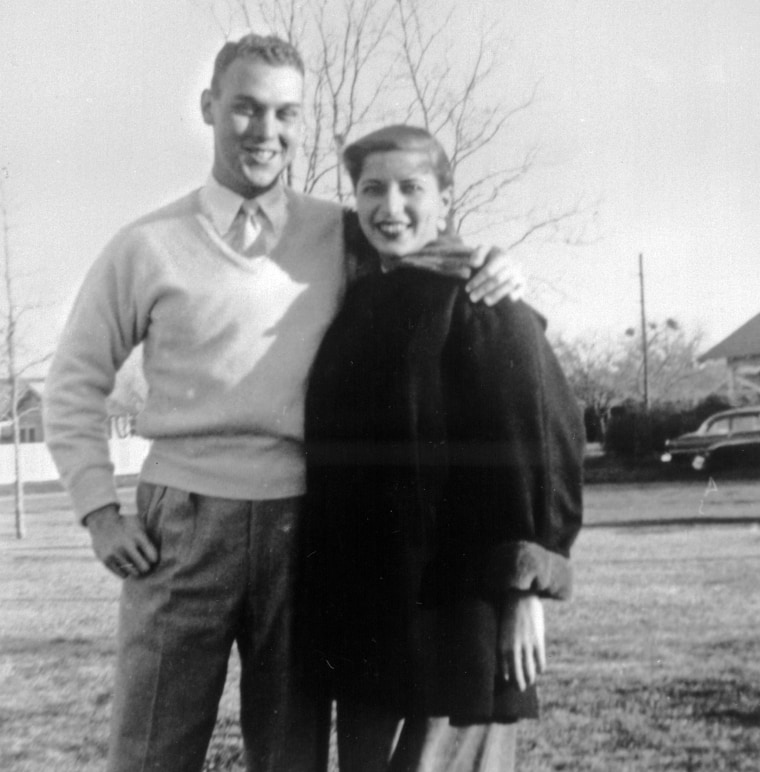 Ruth Bader Ginsburg and her husband Martin Ginsburg, Fort Sill, Okla.