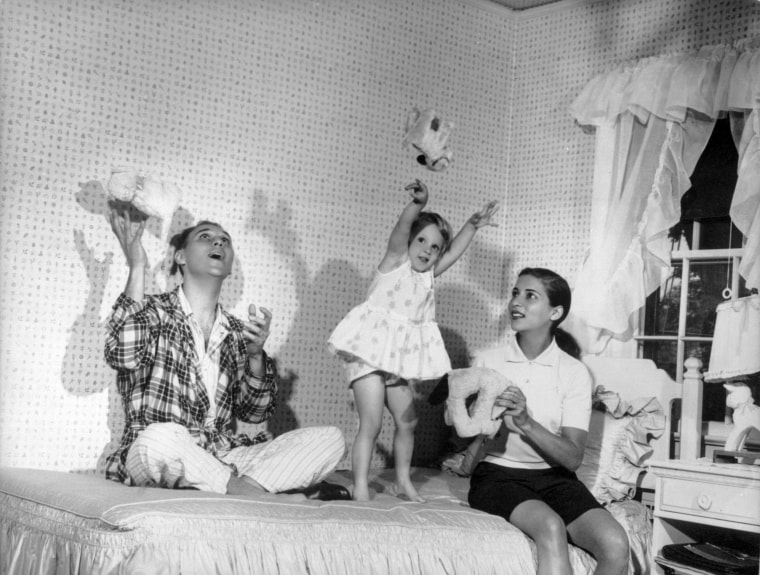 Ruth Bader Ginsburg, her husband Martin and their daughter Jane in 1958. Ruth Bader Ginsburg died at her home in Washington, on Sept. 18, 2020, the Supreme Court announced.