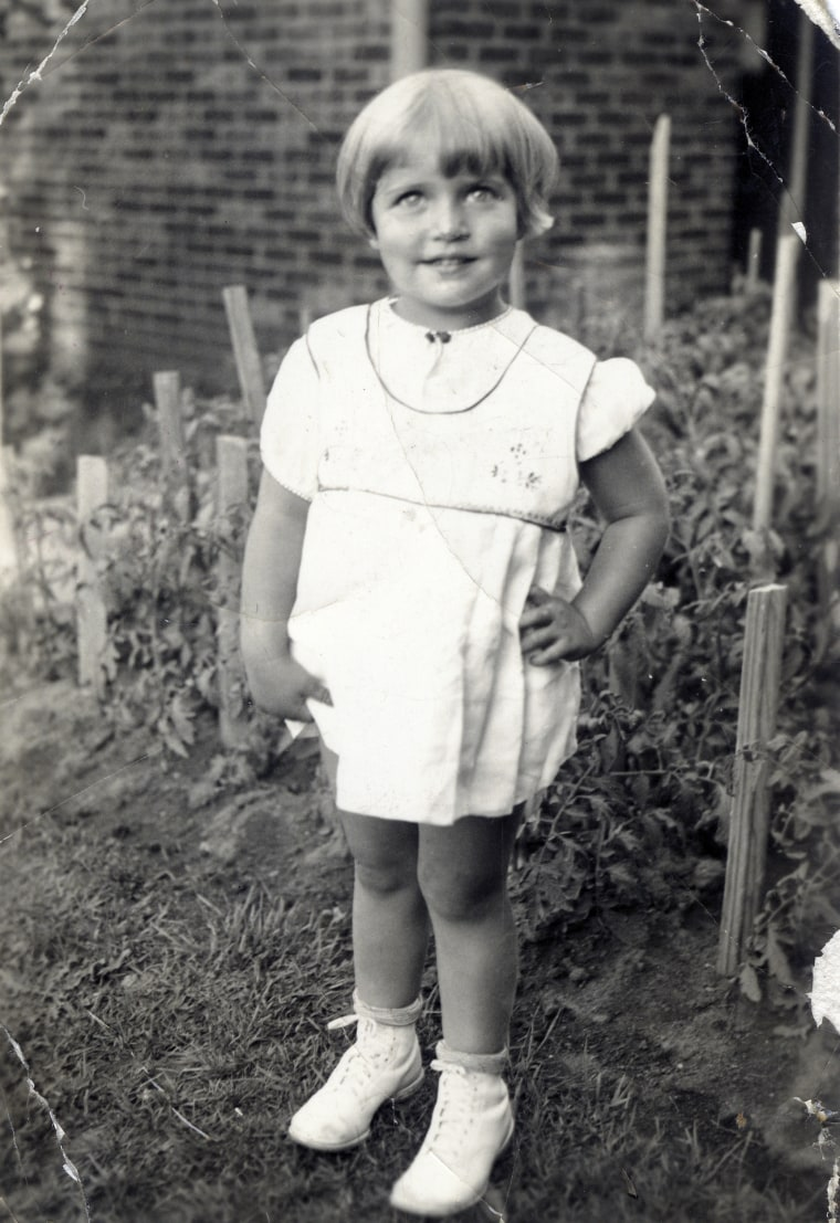 Ruth Bader at two-years-old in 1935, at her home in Brooklyn, N.Y., in 1935.