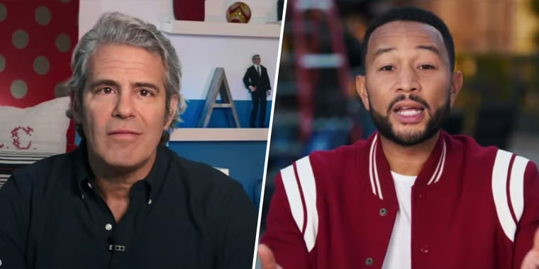 New PSAs for NBC News' Plan Your Vote interactive guide feature network stars, including Kelly Clarkson, Andy Cohen, John Legend, Amber Ruffin and more.