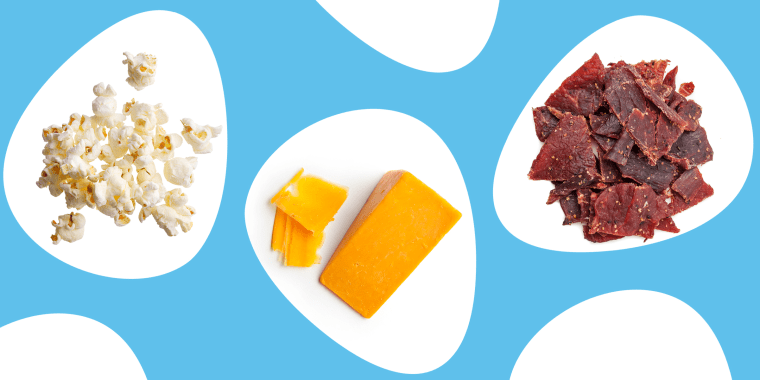 Choosing smart snacks that are high in fiber, protein and healthy fats can be a smart part of a weight-loss plan.