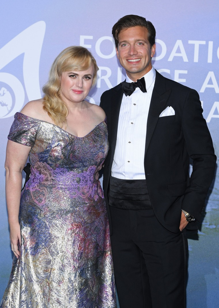 Rebel Wilson and Jacob Busch make red carpet debut