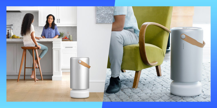 Molekule air pro purifier in home environments.  Molekule Air Pro is a new professional-grade air purifier. The larger version of its full-size model is engineered for the demands of larger spaces.