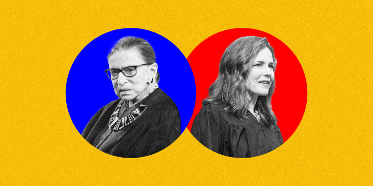 Judge Amy Coney Barrett opposes many of the things Ruth Bader Ginsburg spent her life fighting for, but she owes her own career to Ginsburg and other pioneering women like her.