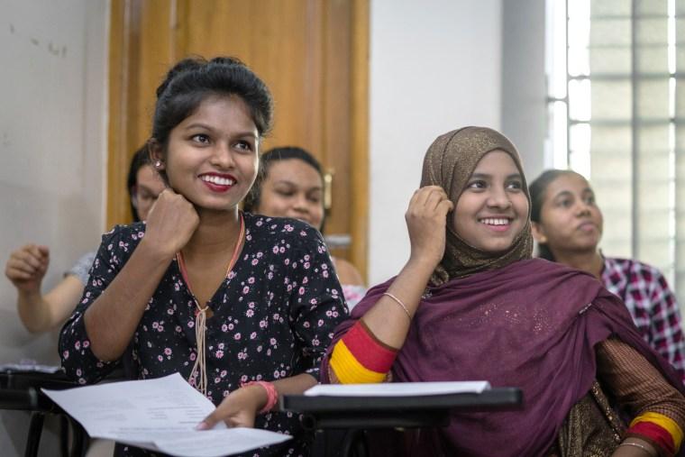 Image: Asian University Students