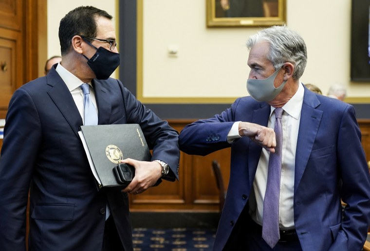 Image: House Holds Hearing On Treasury And Federal Reserve's Pandemic Response
