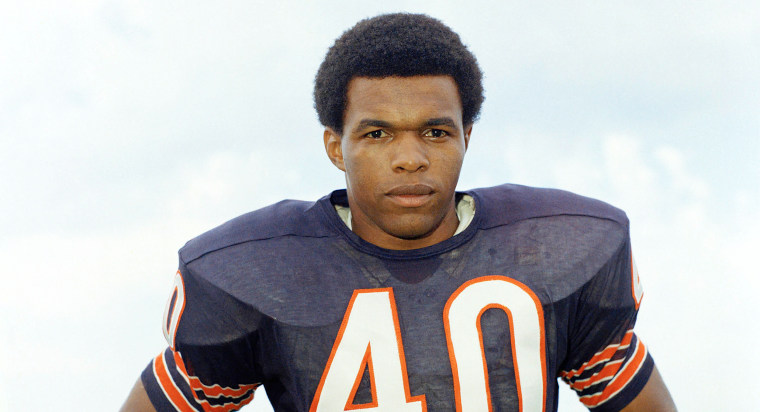 Gale Sayers of the Chicago Bears in 1970.