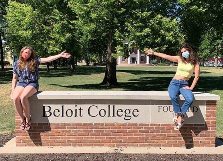 Beloit College students