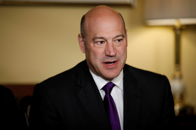 Director of the National Economic Council Gary Cohn speaks during an event to introduce the Republican tax reform plan at the U.S. Capitol in Washington