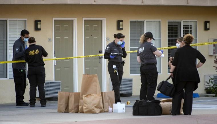 Image: Police investigation