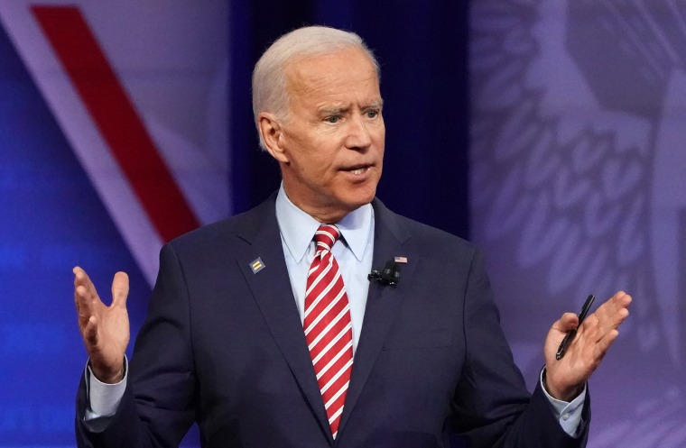 Image: Joe Biden, Democratic Presidential Candidates Discuss LGBTQ Issues At Human Rights Campaign Foundation Forum