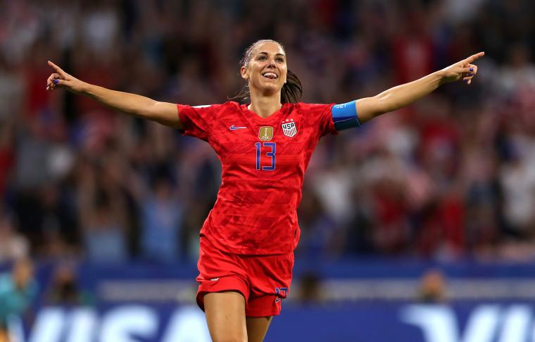 Image: Alex Morgan, England v USA: Semi Final - 2019 FIFA Women's World Cup France