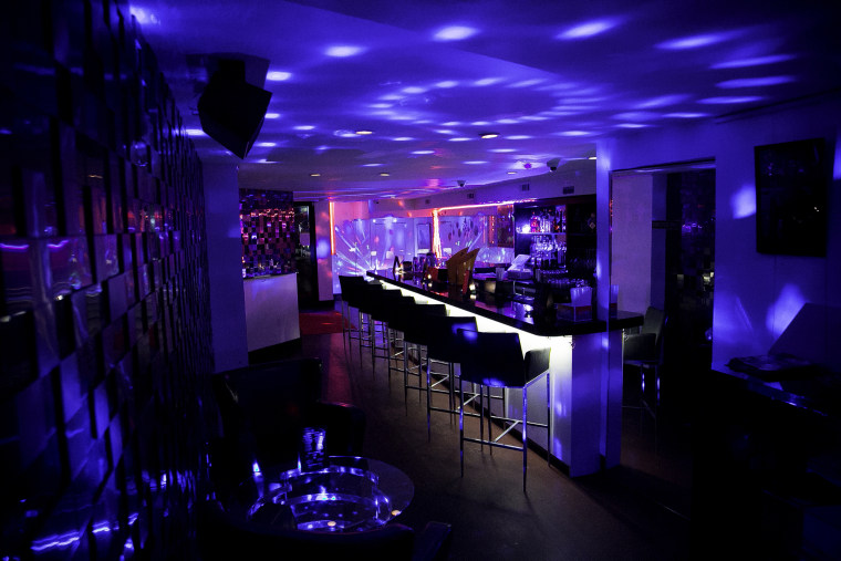 Alibi Lounge, one of two Black owned gay bars left in New York City. It has been in business since 2015.