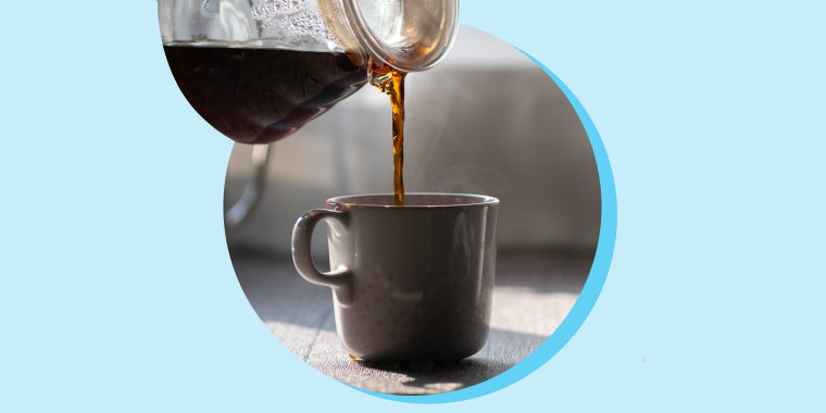 Photo of coffee being poured