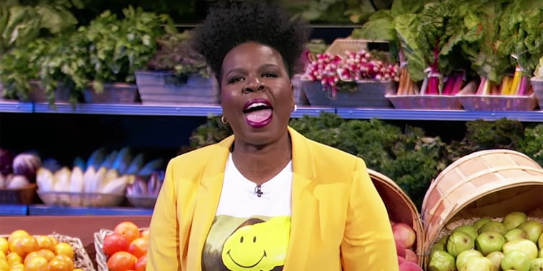 "Leslie Jones hosts and produces the new ABC reboot of ""Supermarket Sweep."""