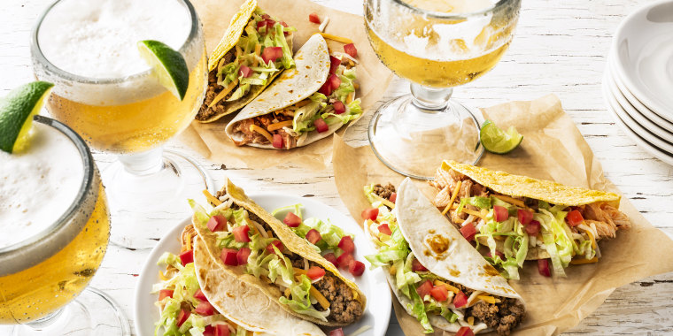 No need to *shell* out for a taco.