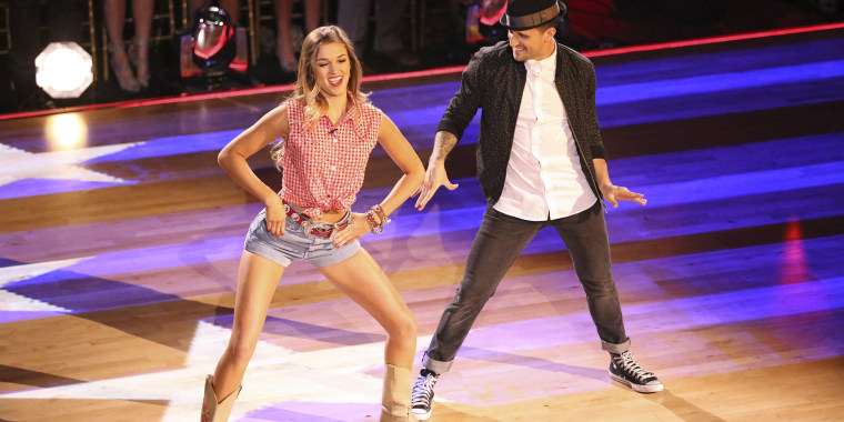 Sadie Robertson and Mark Ballas on Dancing with the Stars