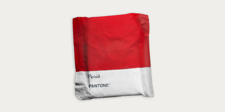 """""""'Period' emboldens people who menstruate to feel proud of who they are,"""" Laurie Pressman, vice president of Pantone Colour Institute, said in a statement."""