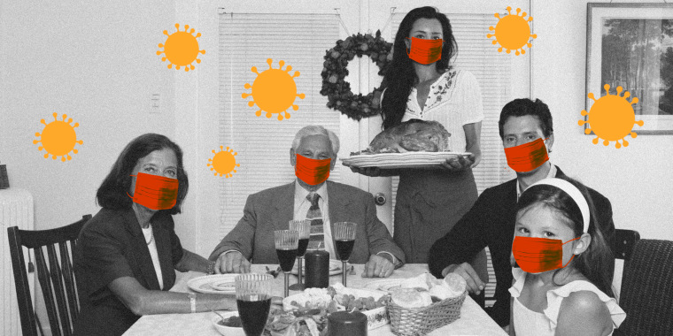 """""""Having a small family gathering is the way to go this year,"""" said Dr. Patrick Kachur."""