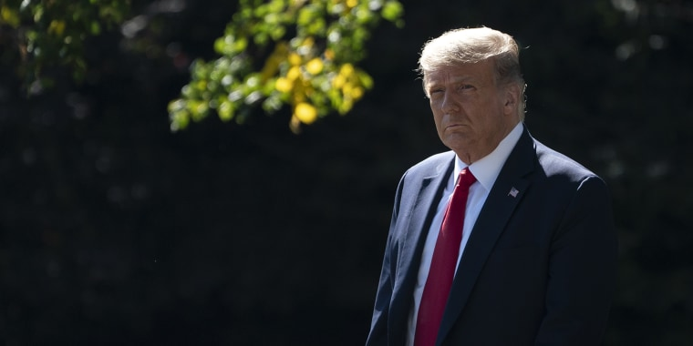 President Trump Departs White House For Campaign Stops In Minnesota