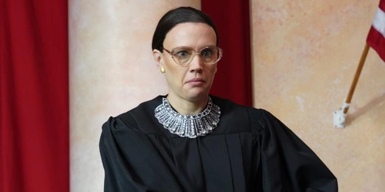Kate McKinnon as Ruth Bader Ginsburg