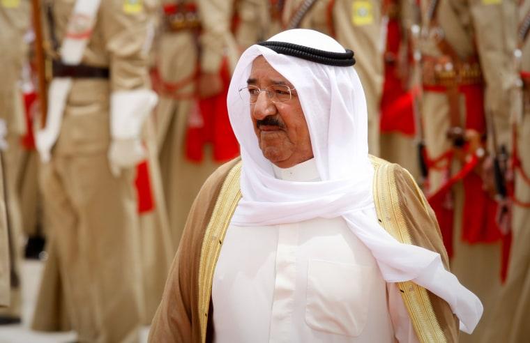 Image: Emir of Kuwait Sheikh Sabah Al-Ahmad Al-Jaber Al-Sabah