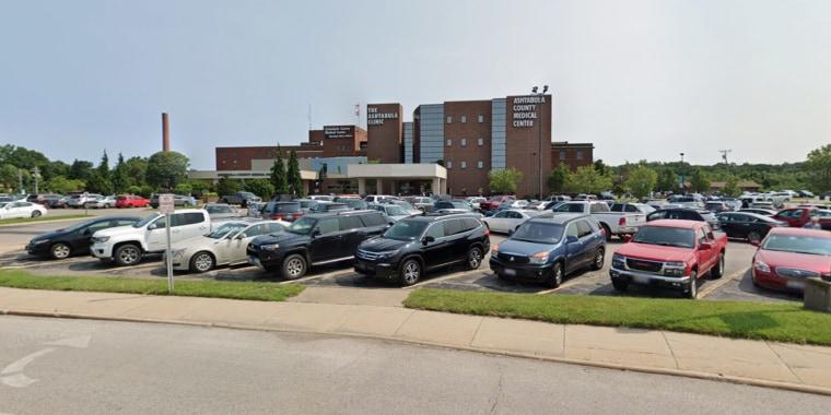 Ashtaboula County Medical Center in Ashtaboula, Ohio.