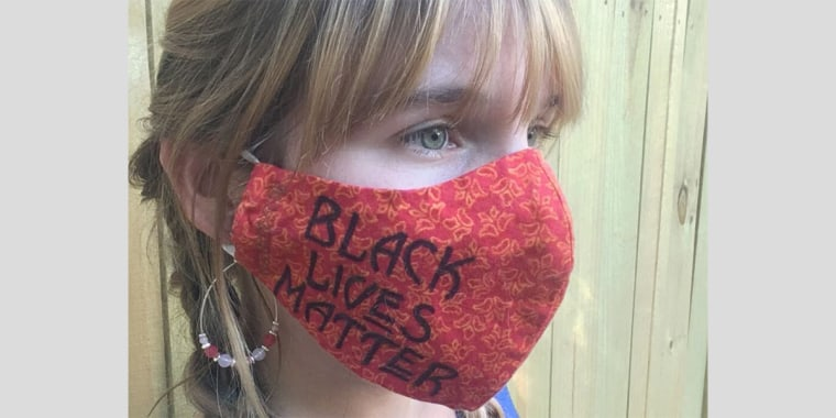 Image: BLM Mask