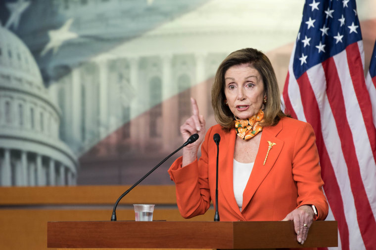 Image: Speaker Pelosi Holds Her Weekly News Conference On Capitol Hill