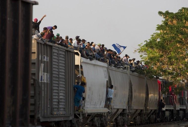 Image: Central American migrants