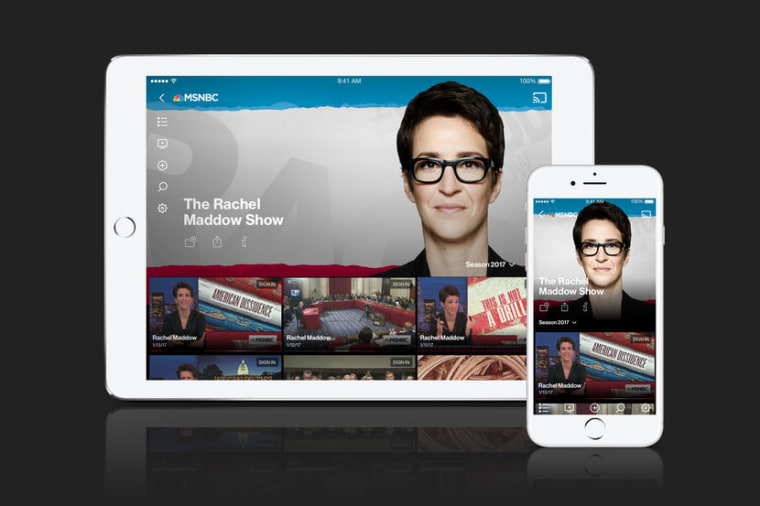 MSNBC App Info Page